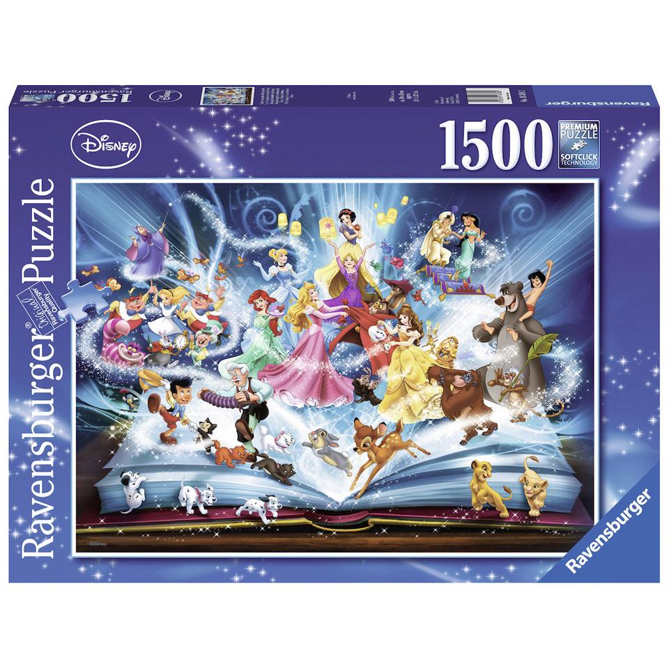 Ravensburger Disney puzzel Disney's magische sprookjesboek - 1500 stukjes