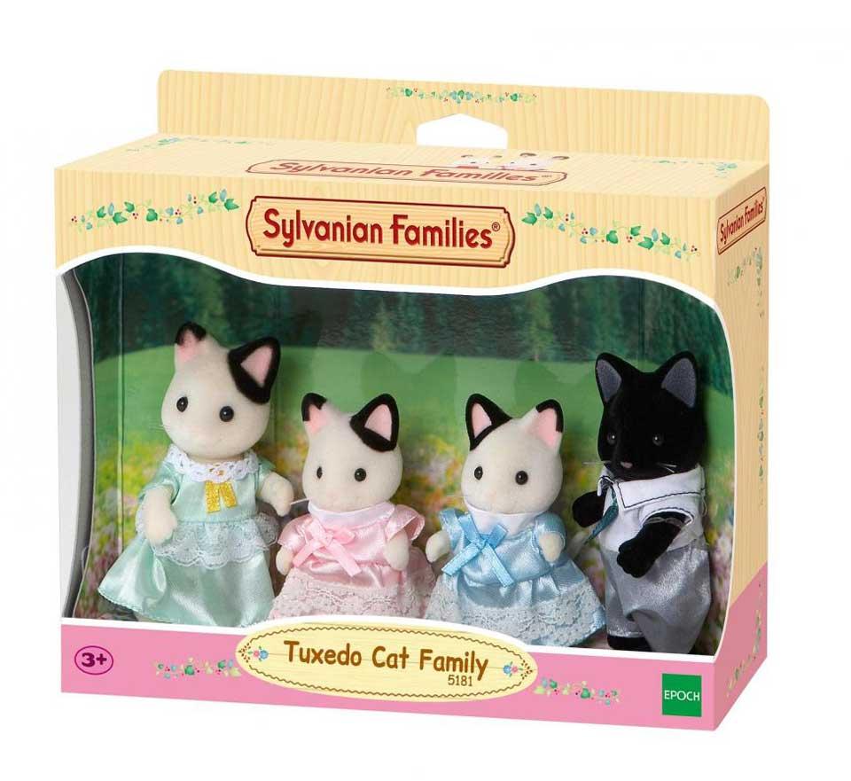 Sylvanian Families Tuxedo kat familie 5181