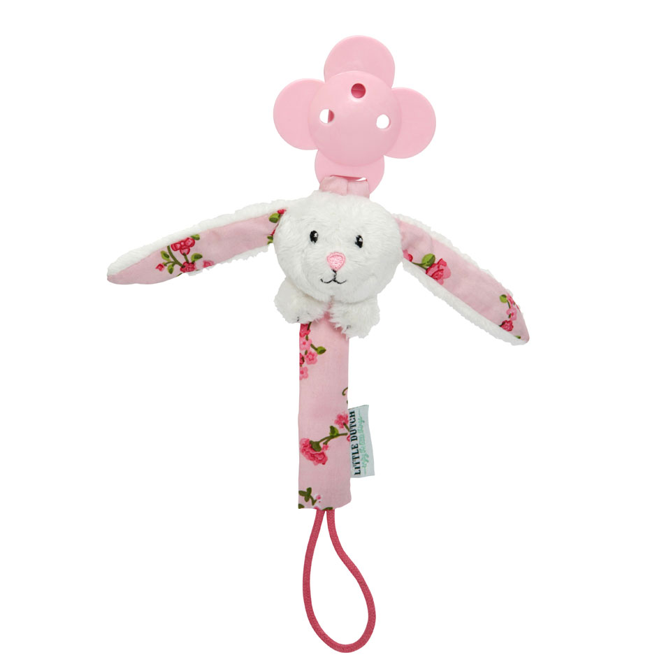Little Dutch Pink Blossom spenenketting