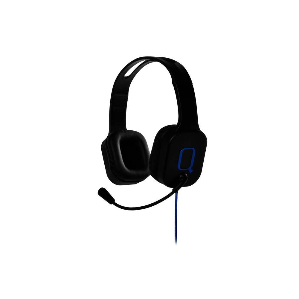 PS4 Qware gaming headset - zwart