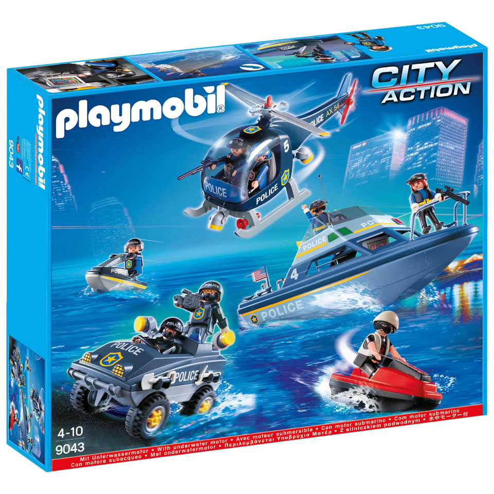 PLAYMOBIL City Action 9043 Mega politieset