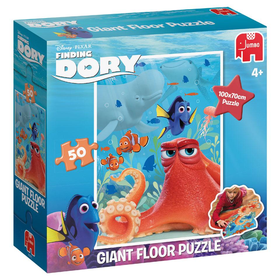 Jumbo Disney Finding Dory grote vloerpuzzel - 50 stukjes