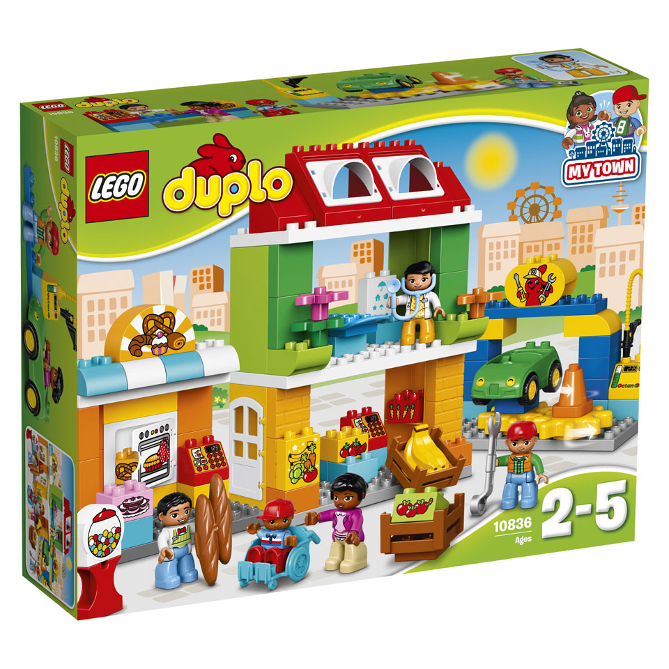 LEGO DUPLO stadsplein 10836