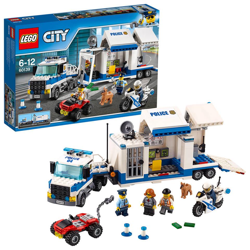 LEGO City mobiele commandocentrale 60139
