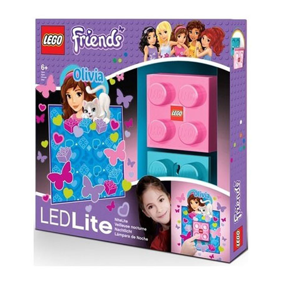 LEGO Friends Olivia Minidoll nachtlamp