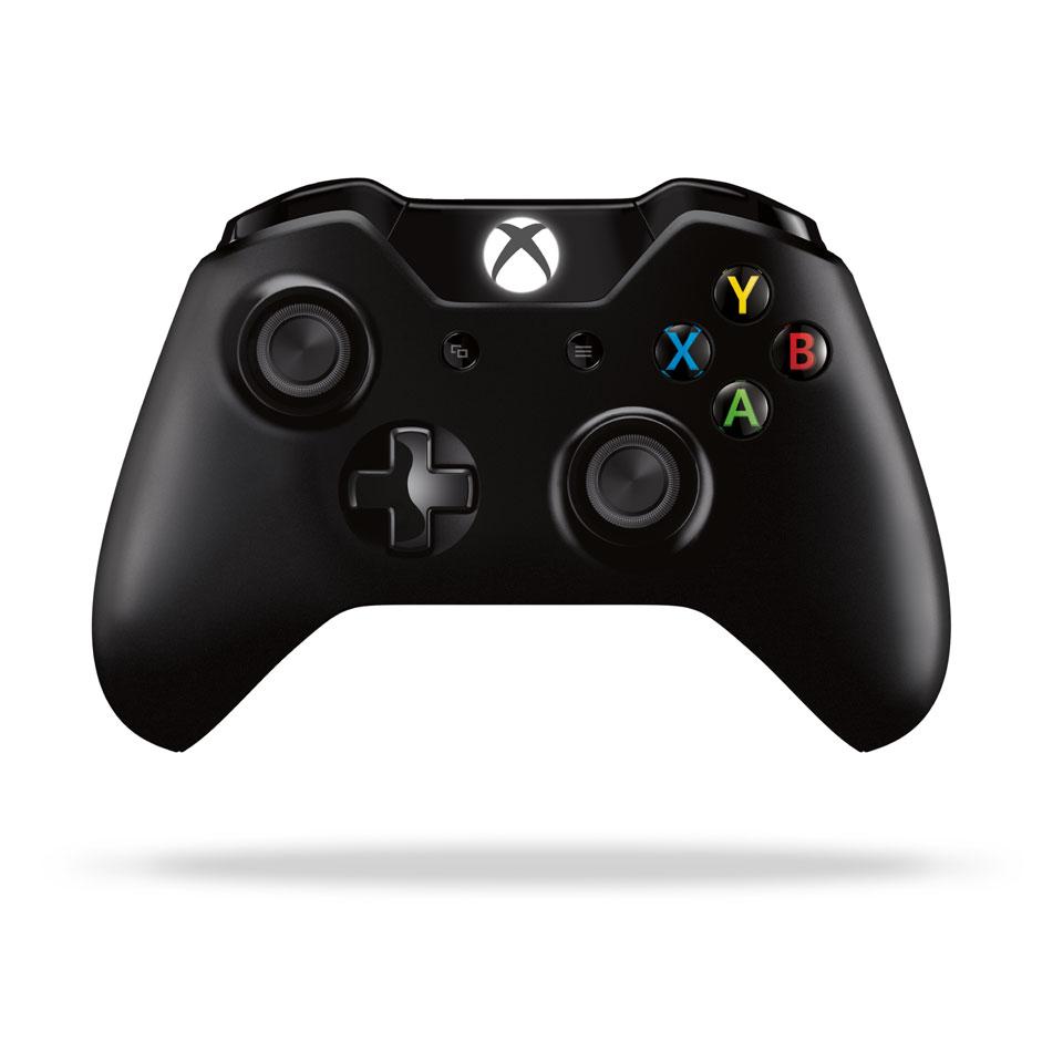 Xbox One S draadloze controller - zwart