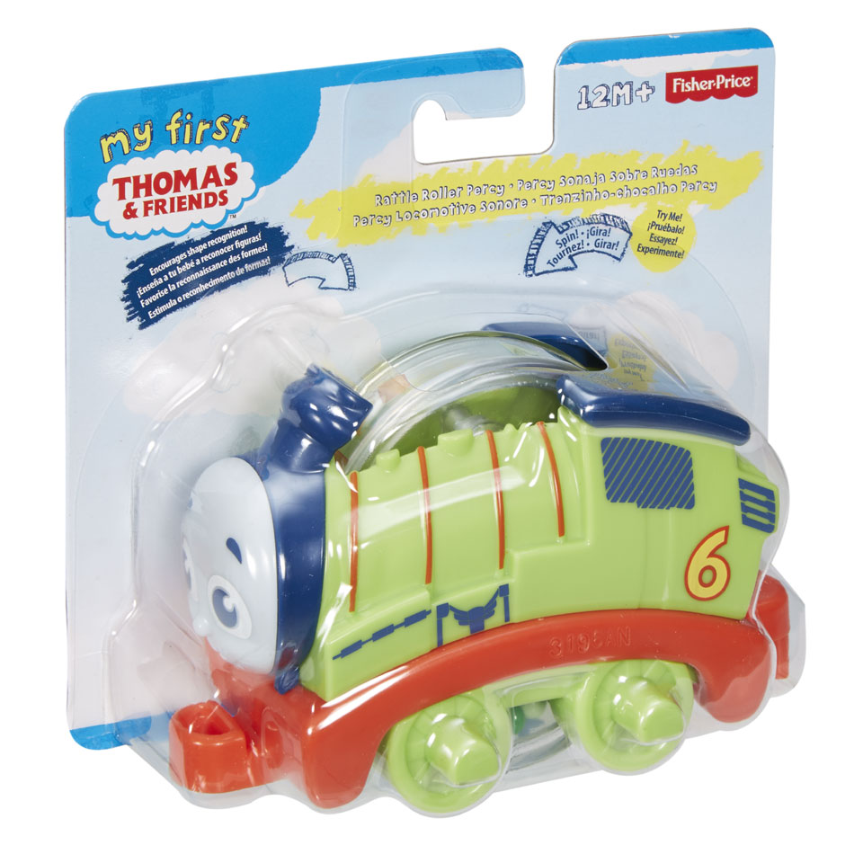 Fisher-Price Thomas & Friends mijn eerste rolrammelaar - Percy