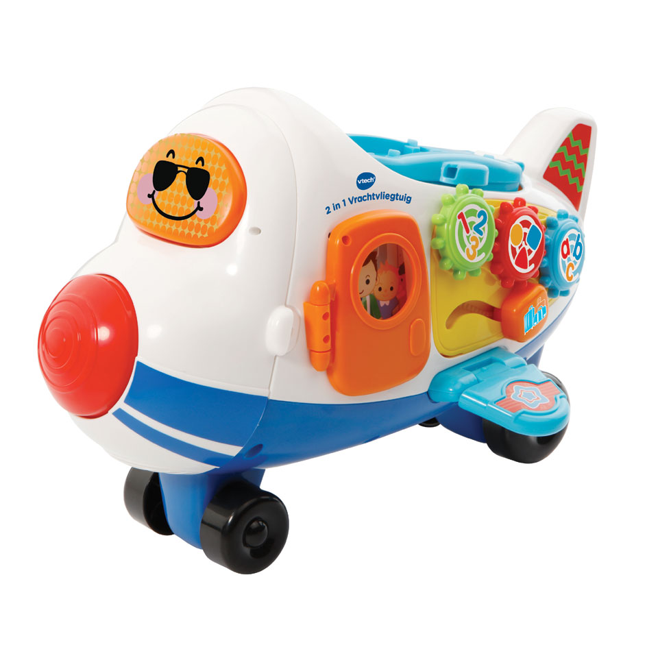 VTech Toet Toet Auto's 2-in-1 vrachtvliegtuig Vince