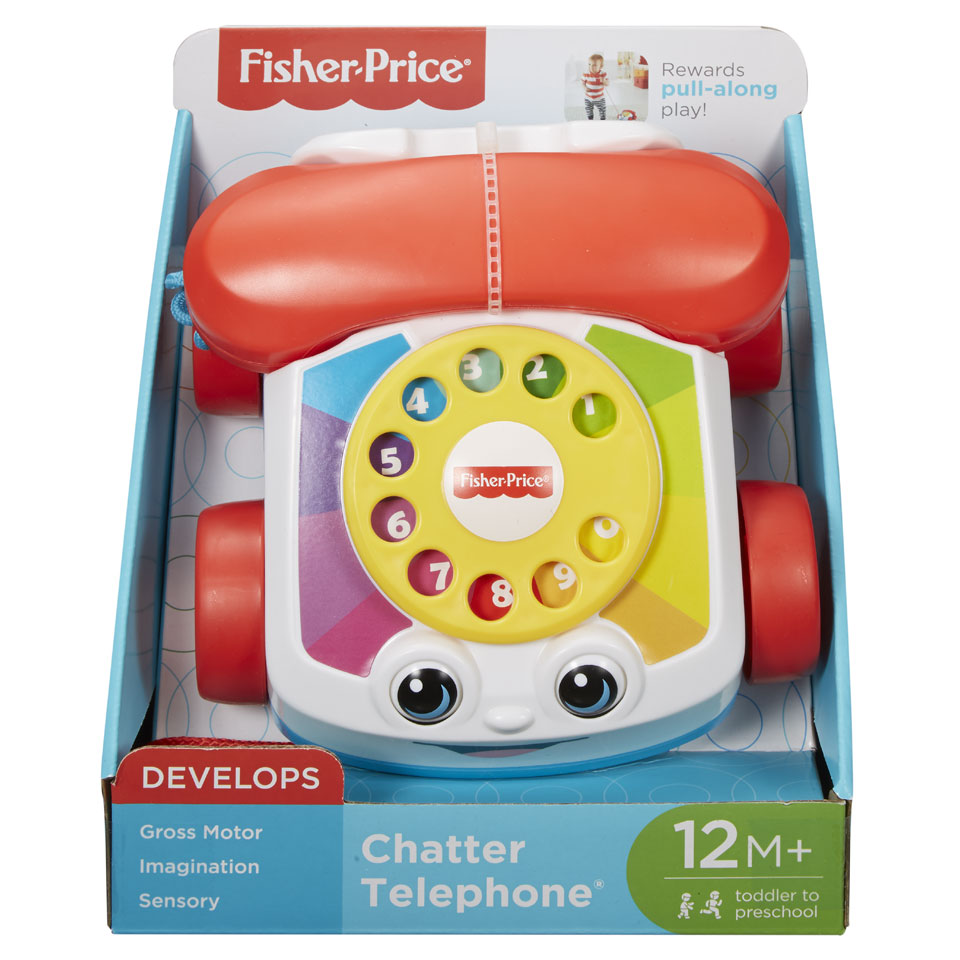 Fisher-Price peutertelefoon