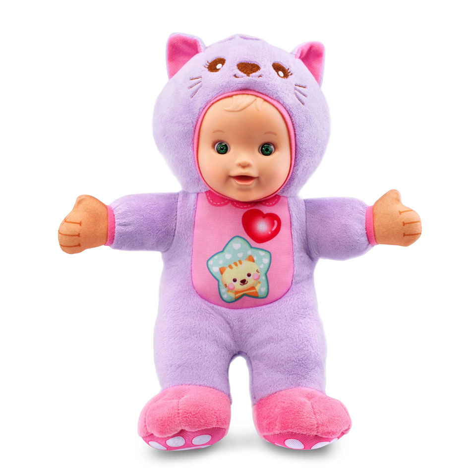 VTech Little Love knuffelpop kat