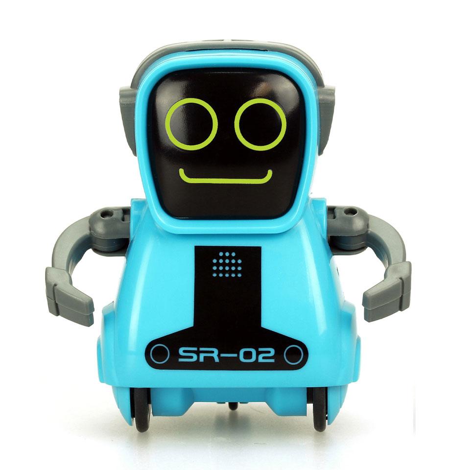 Silverlit PokiBot robot - 8 cm - blauw
