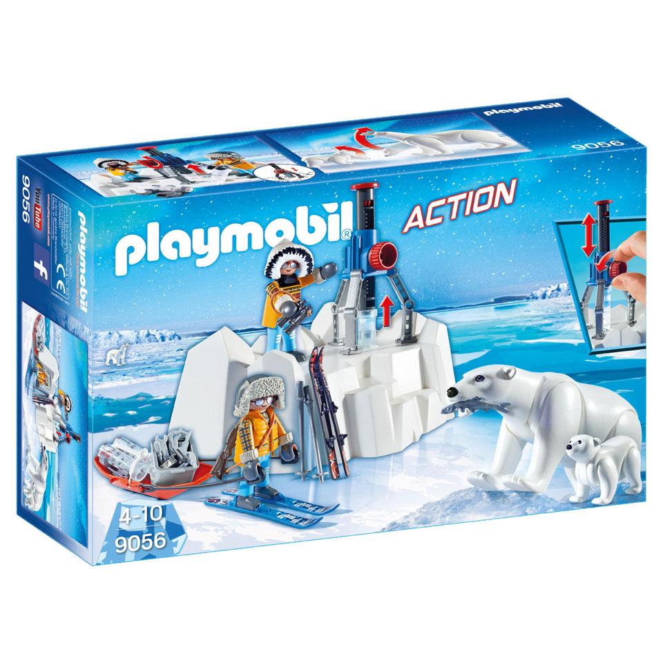 PLAYMOBIL Action poolreizigers en ijsberen 9056