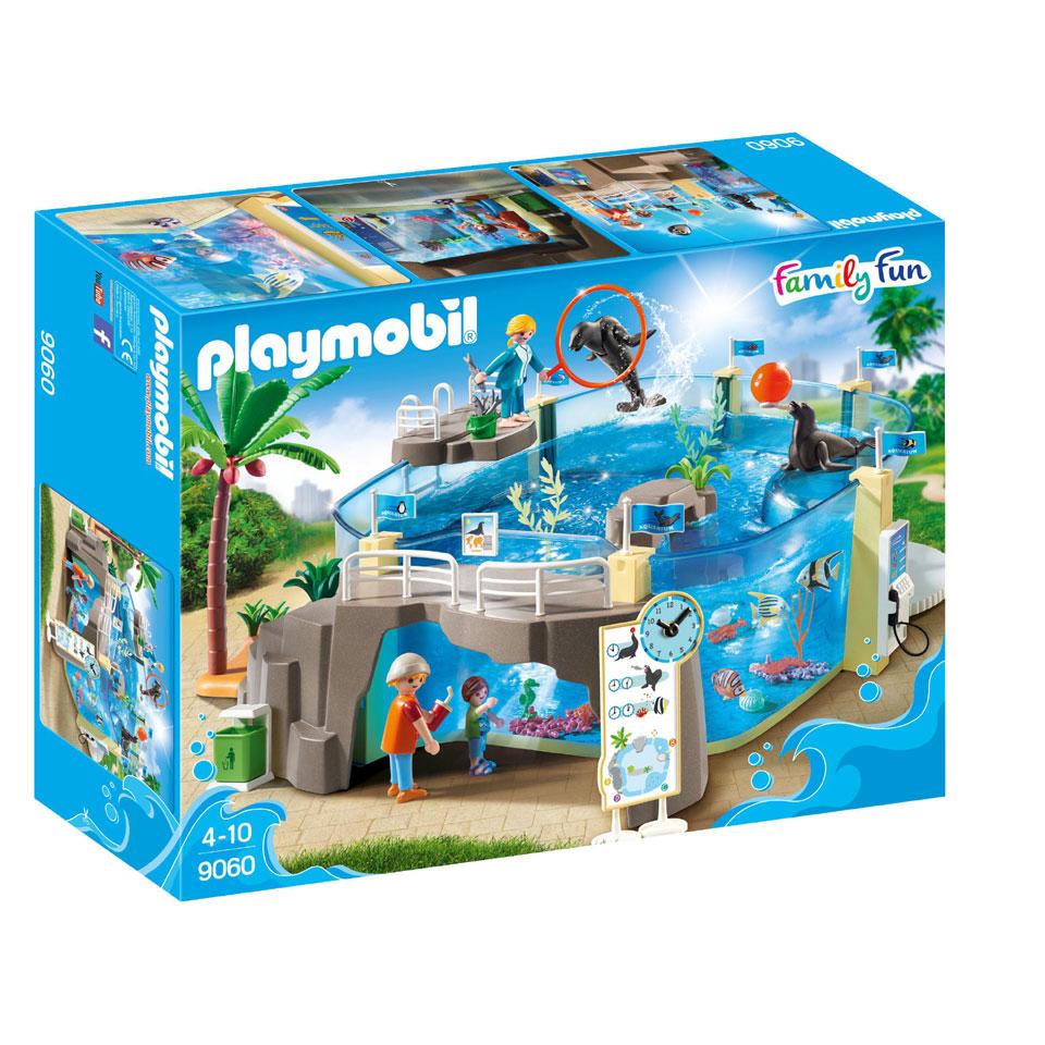 PLAYMOBIL Family Fun zeeaquarium 9060
