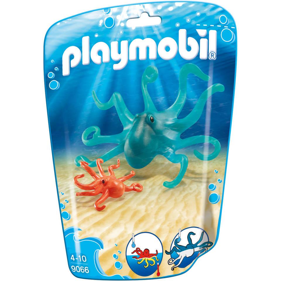 PLAYMOBIL inktvis met jong 9066