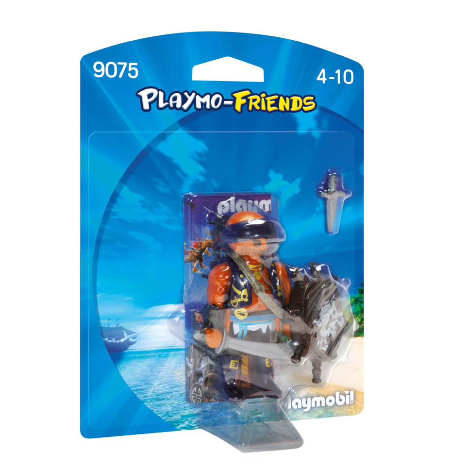PLAYMOBIL Playmo-Friends piraat met schild 9075