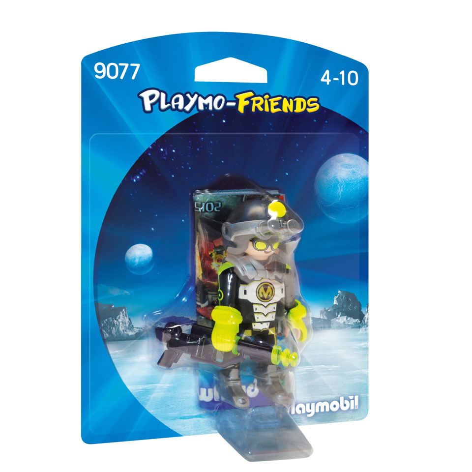 PLAYMOBIL Playmo-Friends Mega Masters spion 9077