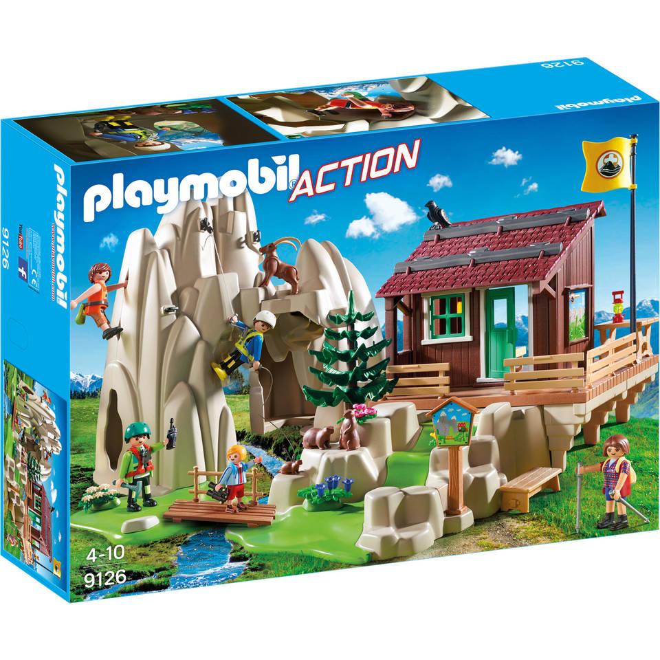 PLAYMOBIL Action bergbeklimmers met berghut 9126