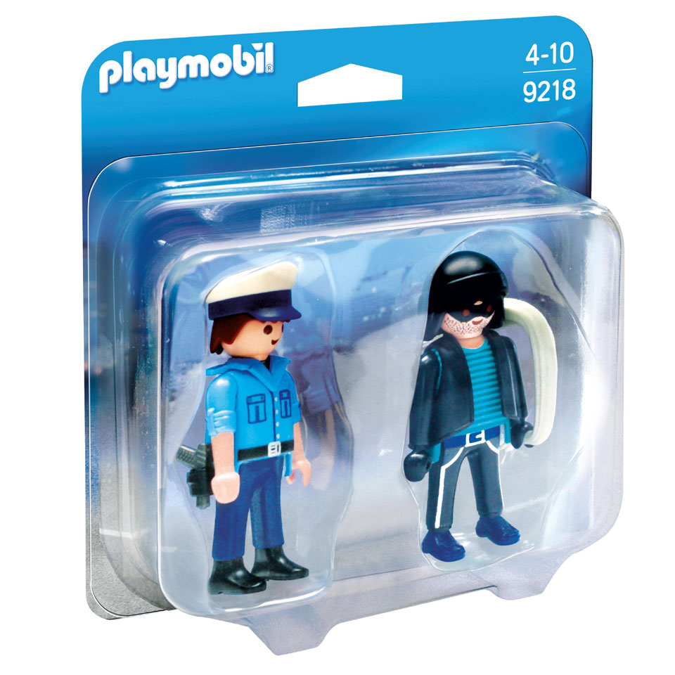 PLAYMOBIL City Action DuoPack politieagent en dief 9218