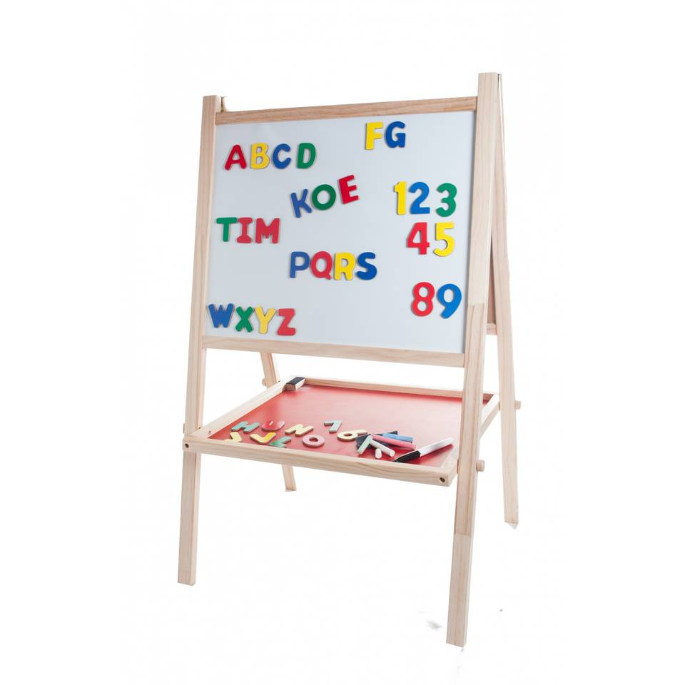 Angel Toys schoolbord & krijtbord - inclusief magneten