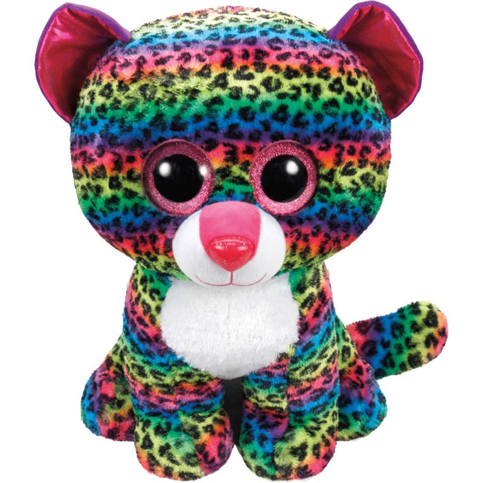 Ty Beanie Boo XL knuffel luipaard Dotty - 42 cm