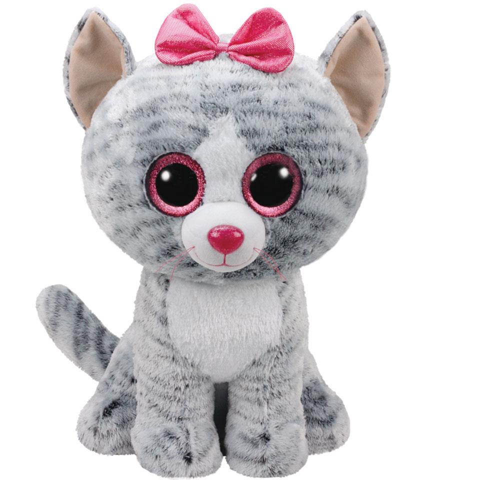 Ty Beanie Boo XL knuffel kat Kiki - 42 cm