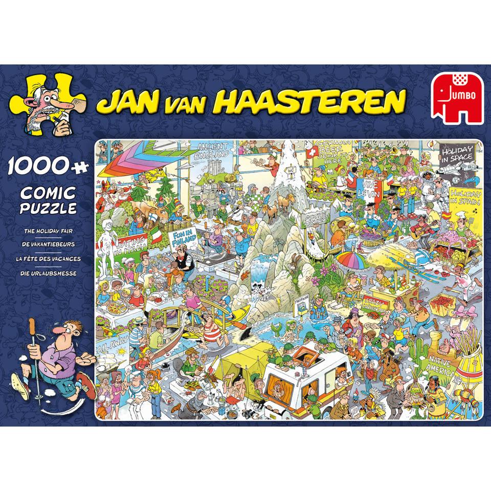 Jumbo Jan van Haasteren puzzel De vakantiebeurs - 1000 stukjes
