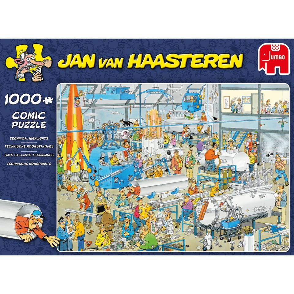 Jumbo Jan van Haasteren puzzel Technische hoogstandjes - 1000 stukjes