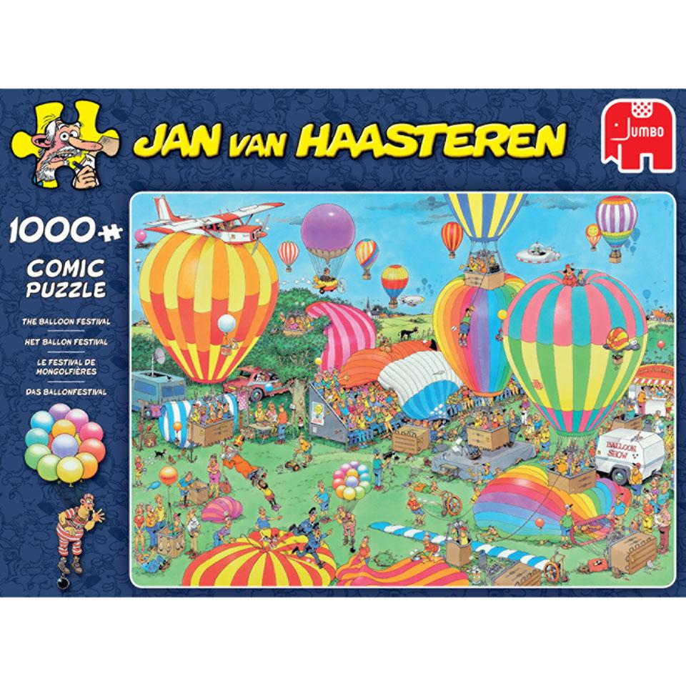 Jumbo Jan van Haasteren puzzel Het ballonfestival - 1000 stukjes