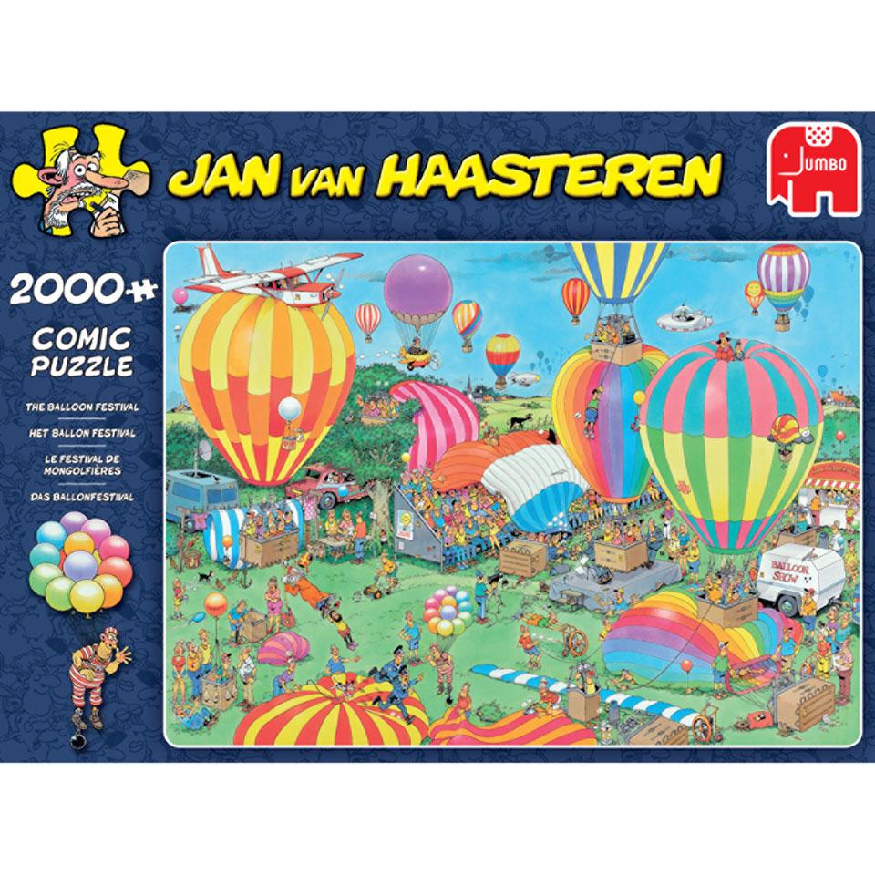 Jumbo Jan van Haasteren puzzel Ballonfestival - 2000 stukjes