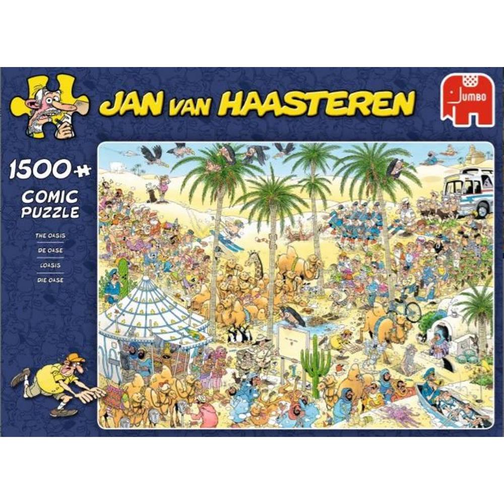 Jumbo Jan van Haasteren puzzel De oase - 1500 stukjes