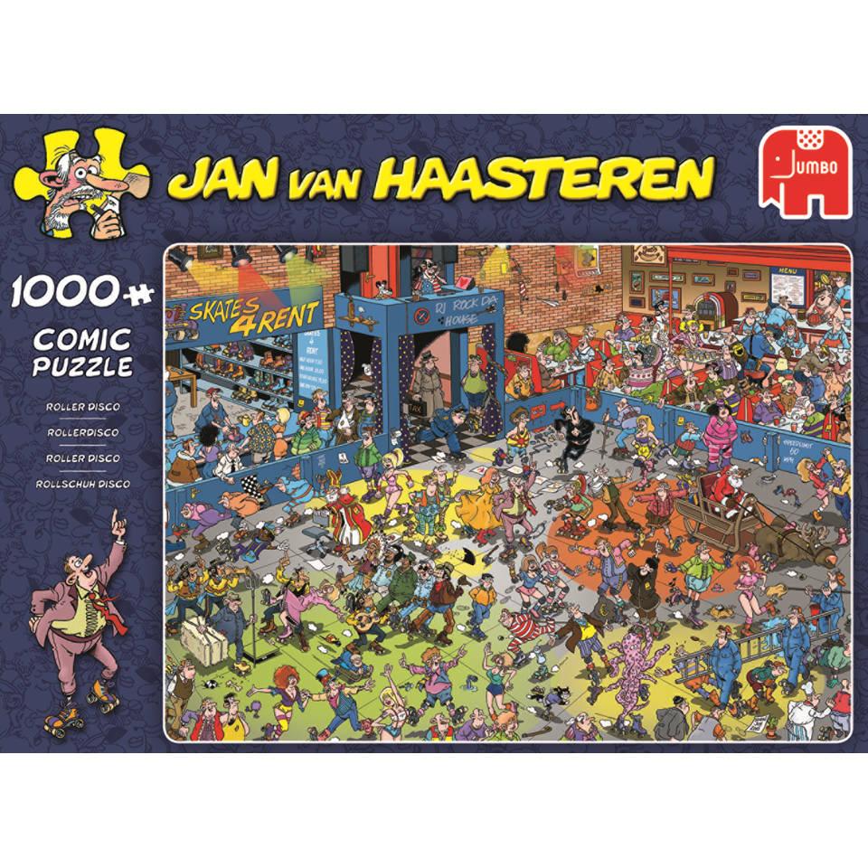 Jumbo Jan van Haasteren puzzel Rollerdisco - 1000 stukjes