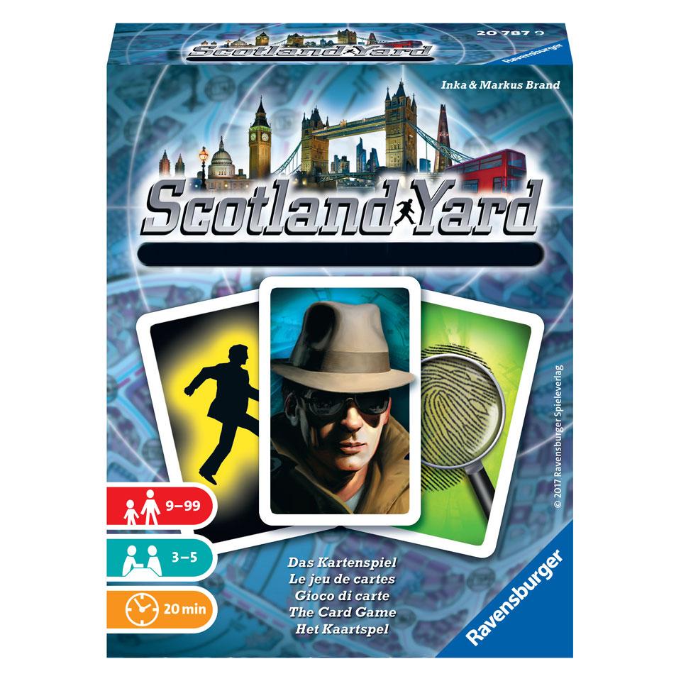 Ravensburger kaartspel Scotland Yard