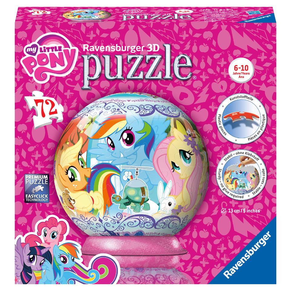 Ravensburger My Little Pony 3D-puzzel - 72 stukjes