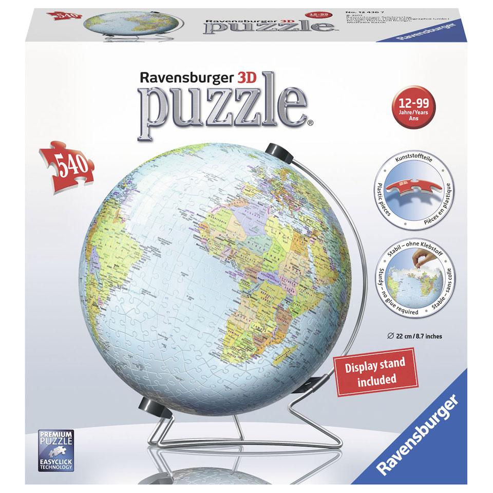 Ravensburger 3D-puzzel de Aarde - 540 stukjes