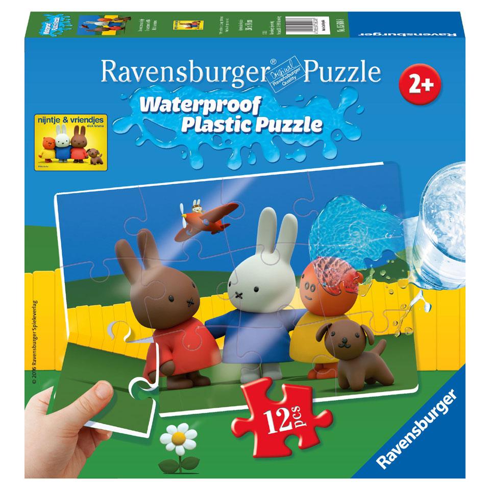 Ravensburger Nijntje plastic puzzel - 12 stukjes