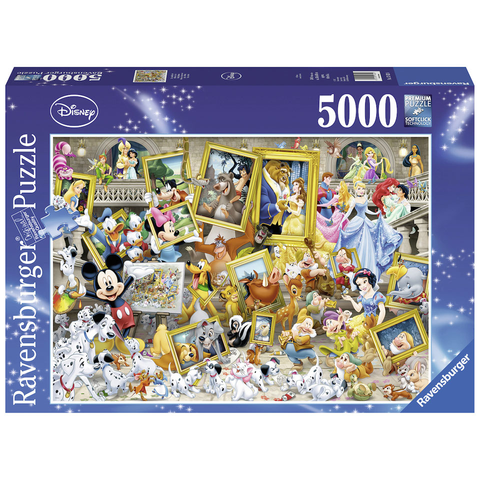 Ravensburger Disney Mickey Mouse puzzel Schilderijen - 5000 stukjes