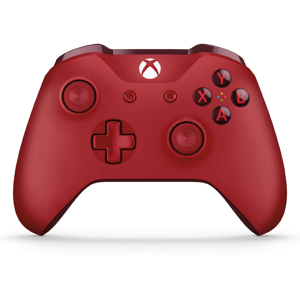Xbox One S draadloze controller - rood