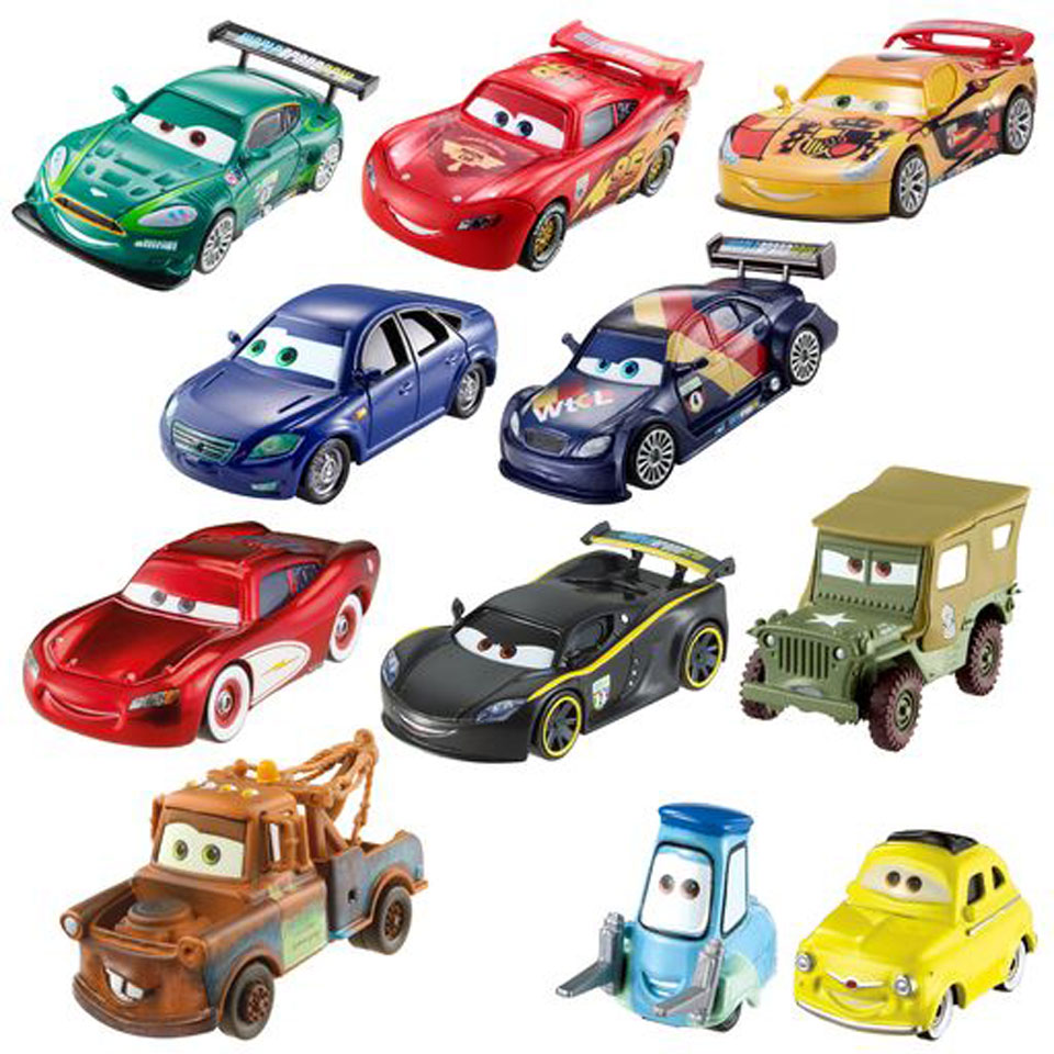 Disney Cars die-cast auto