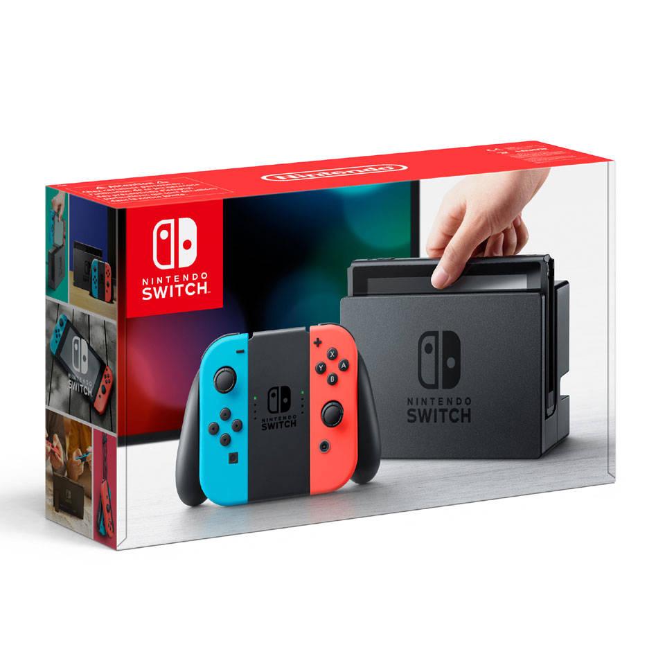Nintendo Switch - rood/blauw