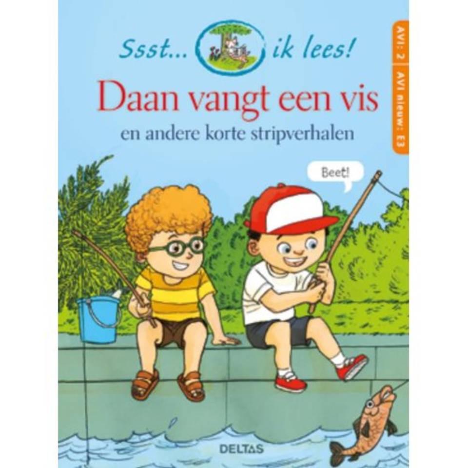 Ssst... ik lees! Daan vangt een vis - Monique Berndes