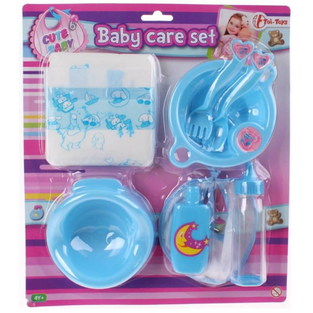 Babypop verzorgingsset