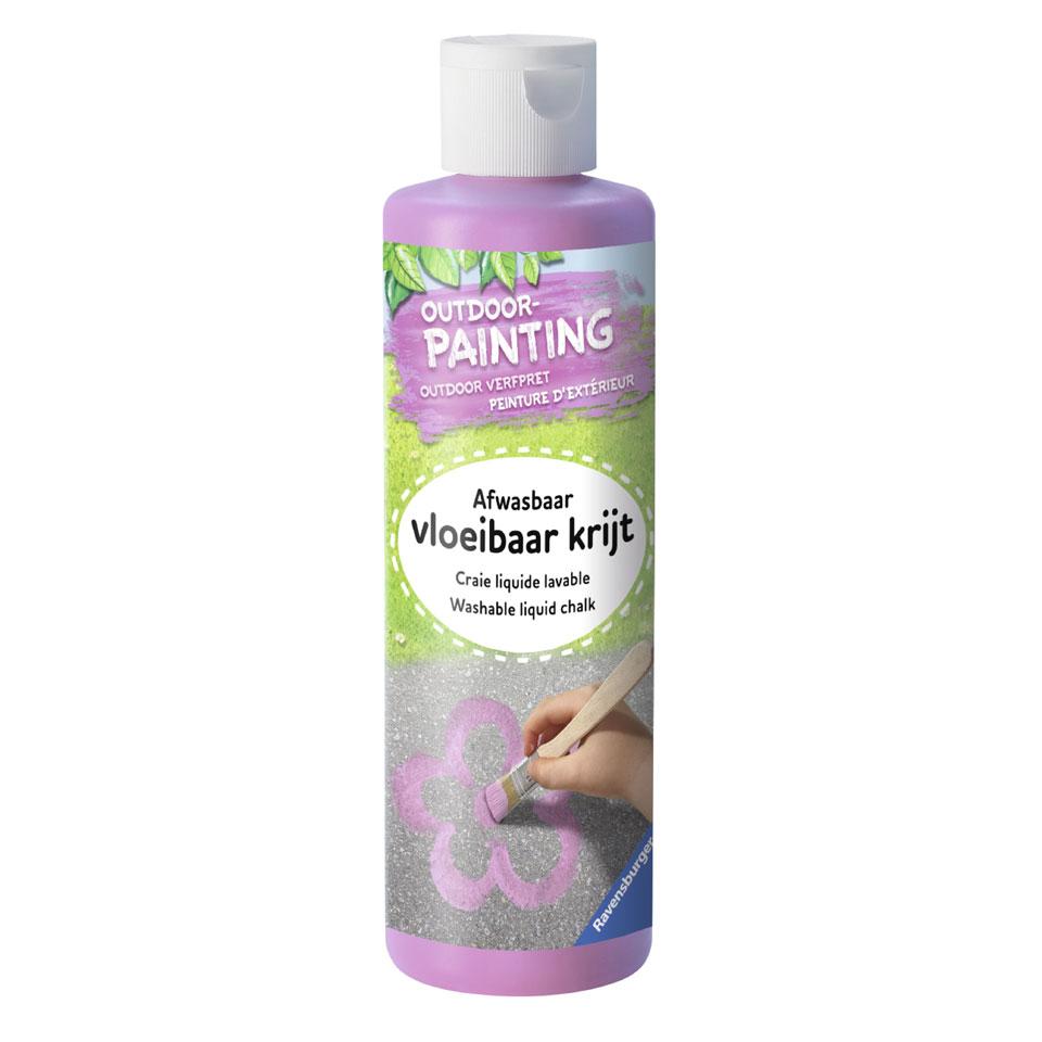 Ravensburger verf outdoor schilderen - paars
