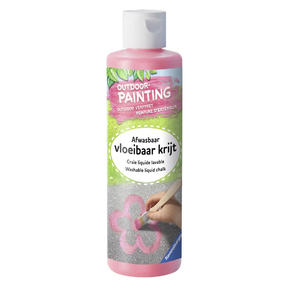 Ravensburger verf outdoor schilderen - roze