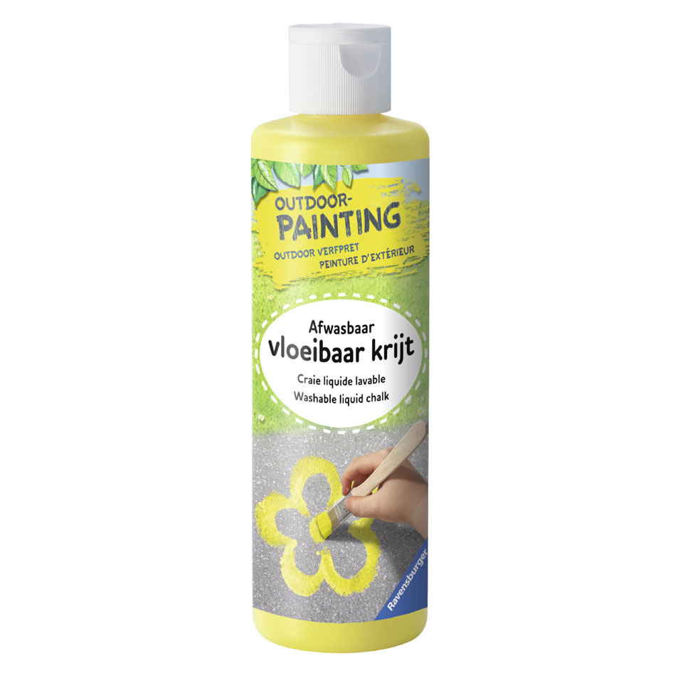 Ravensburger verf outdoor schilderen - geel
