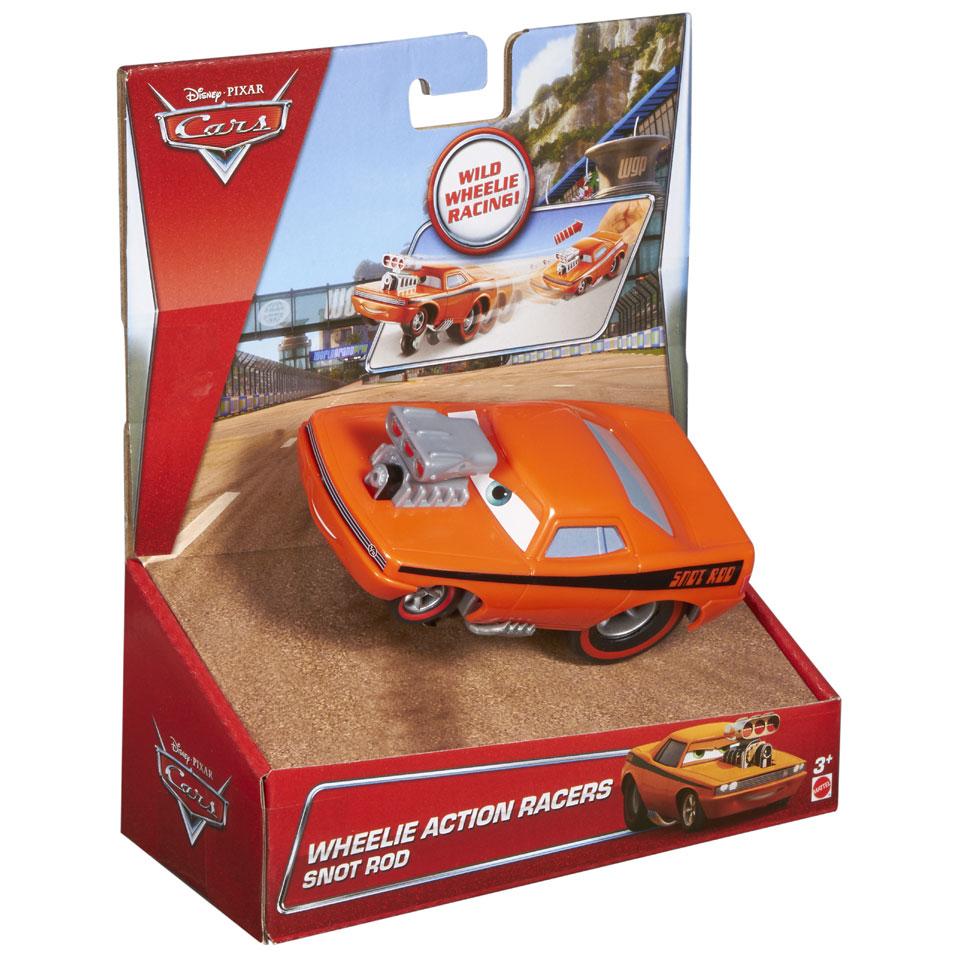 Disney Cars Wheelie auto Snot Rod