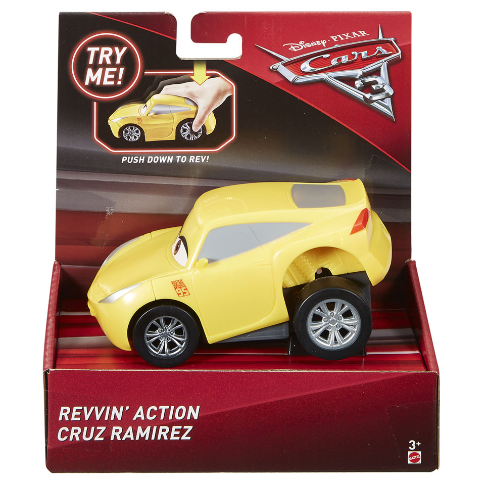 Disney Cars Rev-N-Racer Cruz Ramirez auto