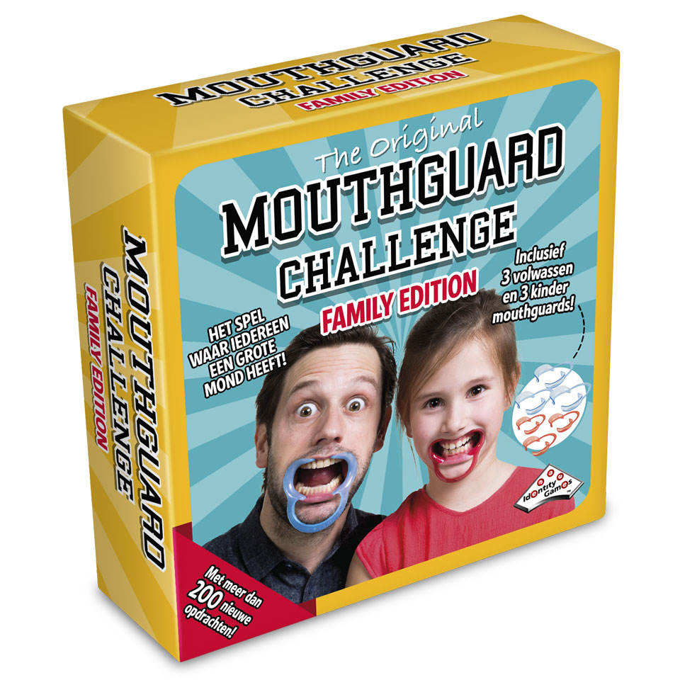 Mouthguard Challenge spel - familie editie