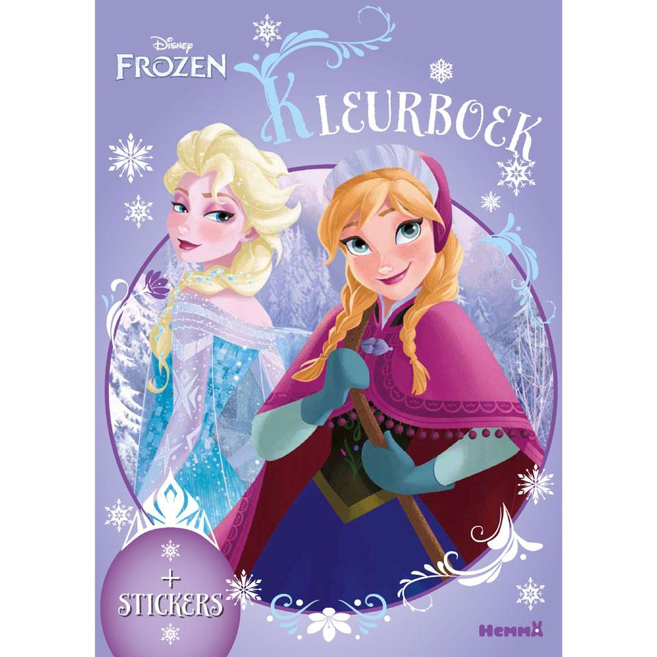 Disney Frozen kleurboek plus stickers