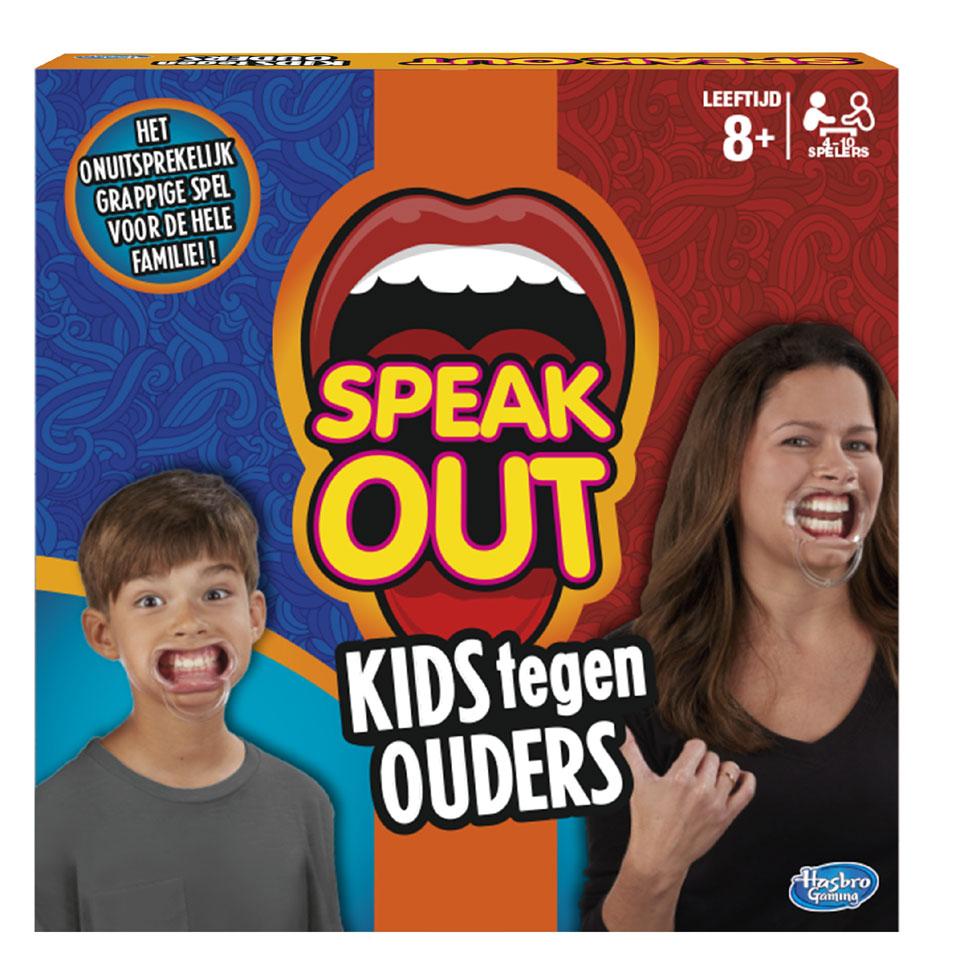 Speak Out kids tegen ouders spel