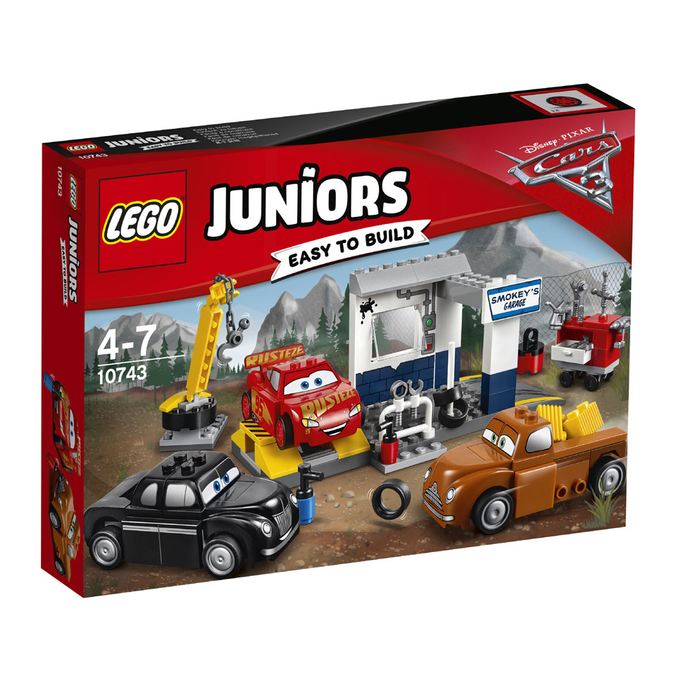 LEGO Juniors Disney Cars Smokey's garage 10743